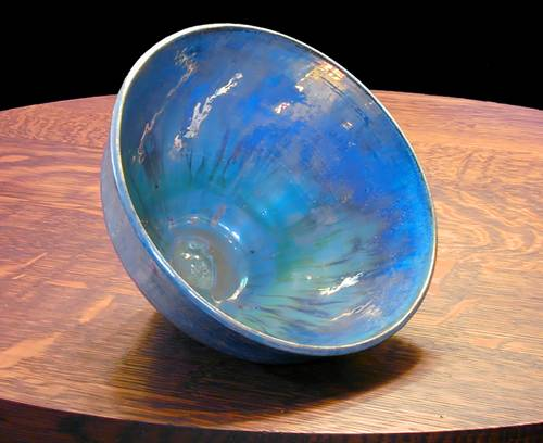 [Iridescent Pottery by Paul J. Katrich (0270)]