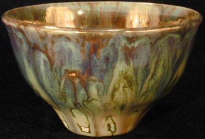 [Iridescent Bowl by Paul J. Katrich (0286)]