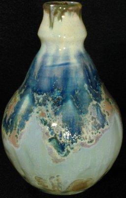 [Iridescent Vessel by Paul J. Katrich (0291)]