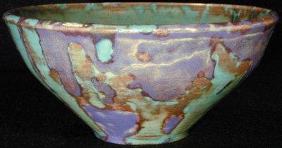 [Iridescent Bowl by Paul J. Katrich (0293)]