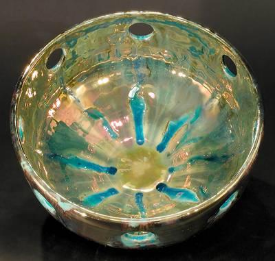 [Iridescent Bowl by Paul J. Katrich (0296)]