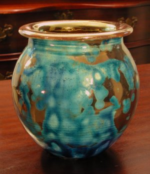 [Iridescent Pottery by Paul J. Katrich (0308)]