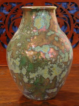 [Iridescent Pottery by Paul J. Katrich (0321)]
