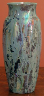 [Iridescent Pottery by Paul J. Katrich (0335)]