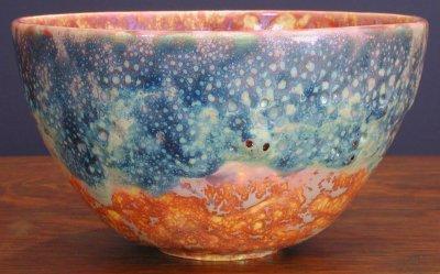 [Iridescent Pottery by Paul J. Katrich (0345)]