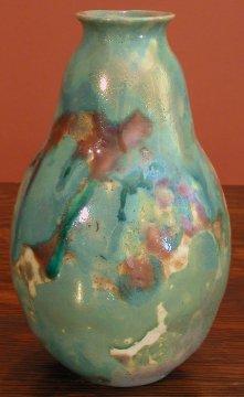 [Iridescent Pottery by Paul J. Katrich (0353)]
