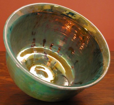 [Iridescent Pottery by Paul J. Katrich (0360)]
