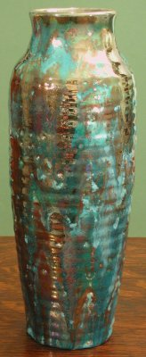 [Iridescent Pottery by Paul J. Katrich (0370)]