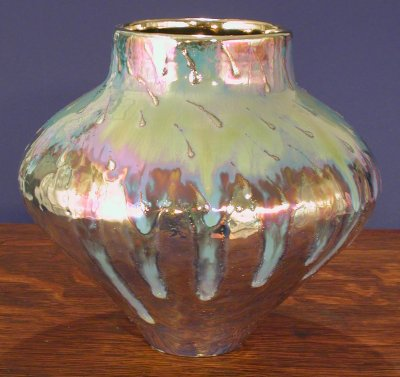 [Iridescent Pottery by Paul J. Katrich (0443)]