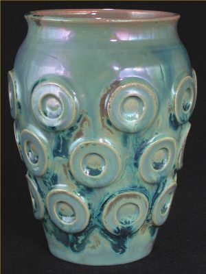 [Iridescent Pottery by Paul J. Katrich (0446)]