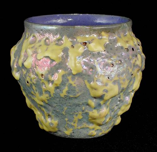[Iridescent Pottery by Paul J. Katrich (0450)]