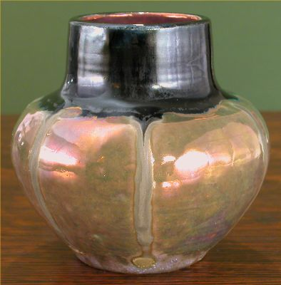 [Iridescent Pottery by Paul J. Katrich, 0480]