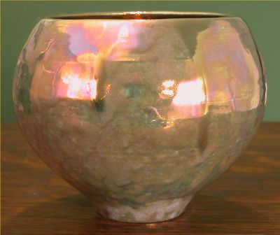 [Iridescent Pottery by Paul J. Katrich, 0485]