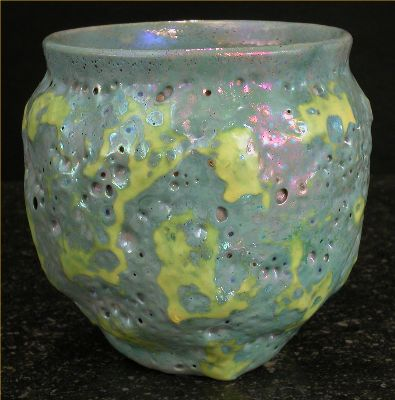 [Iridescent Pottery by Paul J. Katrich, 0487]