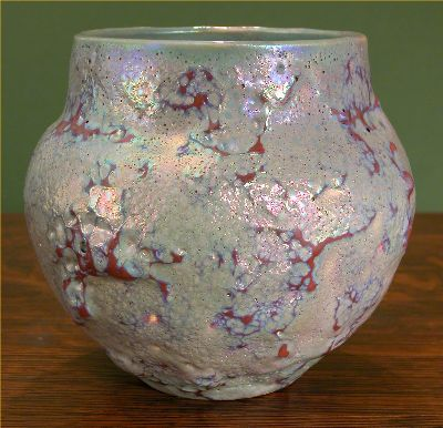 [Iridescent Pottery by Paul J. Katrich, 0490]