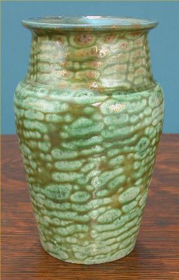 [Iridescent Pottery by Paul J. Katrich, 0492]