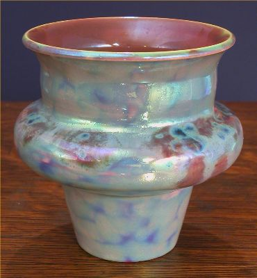 [Iridescent Pottery by Paul J. Katrich, 0495]