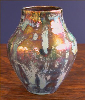 Iridescent Pottery by Paul J. Katrich, 0506