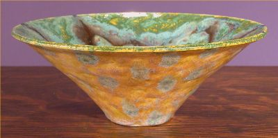 Iridescent Pottery by Paul J. Katrich, 0507