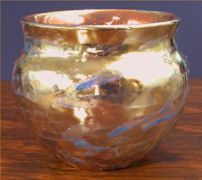 Iridescent Pottery by Paul J. Katrich, 0534