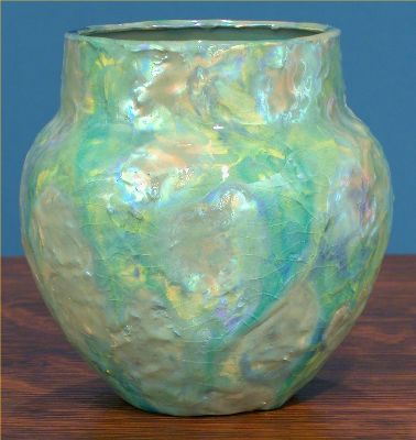 [Iridescent Pottery by Paul J. Katrich (0590)]