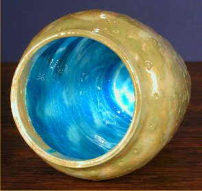 [Iridescent Pottery by Paul J. Katrich (0594)]