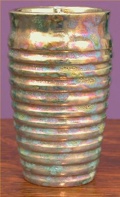 [Iridescent Pottery by Paul J. Katrich (0595)]