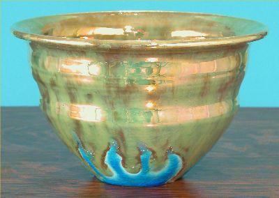 [Iridescent Pottery by Paul J. Katrich (0597)]