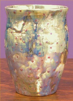 [Iridescent Pottery by Paul J. Katrich (0598)]