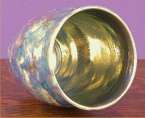 [Iridescent Pottery by Paul J. Katrich (0598)]