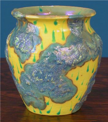 [Iridescent Pottery by Paul J. Katrich (0600)]