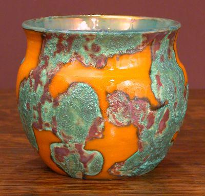 [Iridescent Pottery by Paul J. Katrich, 0626]