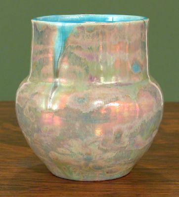[Iridescent Pottery by Paul J. Katrich, 0631]
