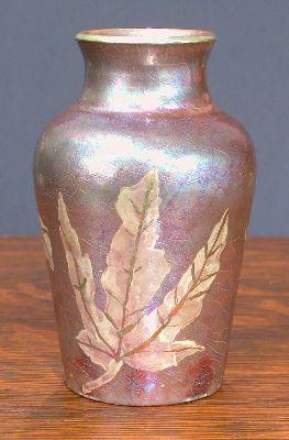 [Iridescent Pottery by Paul J. Katrich, 0633]