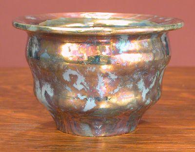 [Iridescent Pottery by Paul J. Katrich, 0635]