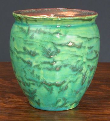 [Iridescent Pottery by Paul J. Katrich, 0639]