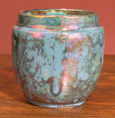 [Iridescent Pottery by Paul J. Katrich, 0641]