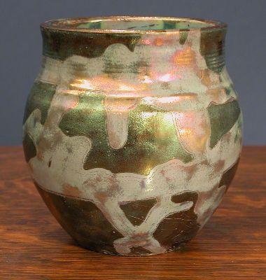 [Iridescent Pottery by Paul J. Katrich, 0642]