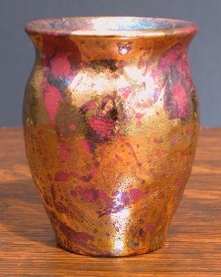 [Iridescent Pottery by Paul J. Katrich, 0646]