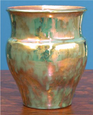 [Iridescent Pottery by Paul J. Katrich (0655)]