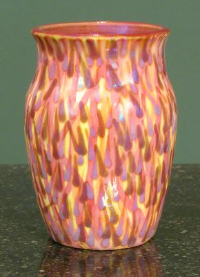 [Iridescent Pottery by Paul J. Katrich, 0663]