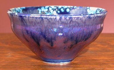 [Iridescent Pottery by Paul J. Katrich, 0670]