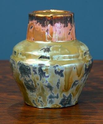 [Iridescent Pottery by Paul J. Katrich (0682)]