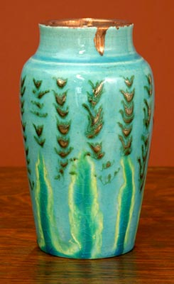 [Iridescent Pottery by Paul J. Katrich (0684)]