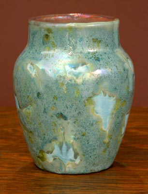 [Iridescent Pottery by Paul J. Katrich (0690)]