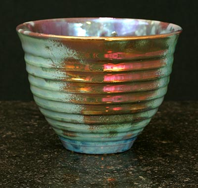 [Iridescent Pottery by Paul J. Katrich (0698)]