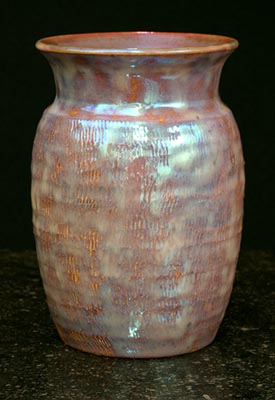 [Iridescent Pottery by Paul J. Katrich (0702)]