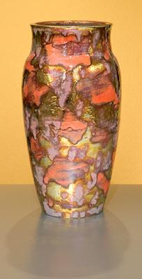 [Iridescent Pottery by Paul J. Katrich (0740)]