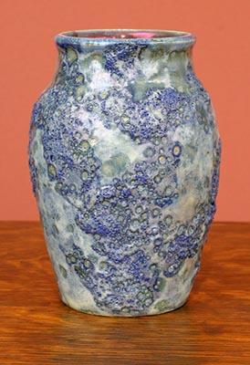[Iridescent Pottery by Paul J. Katrich (0759)]