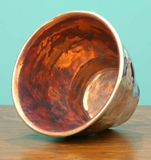 [Iridescent Pottery by Paul J. Katrich (0787)]
